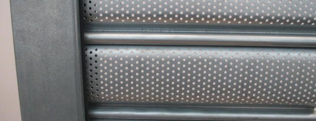Apex Perforated Slat Roller Shutter Door Apex Doors